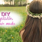 Homemade gelatin hair masks - hair lamination