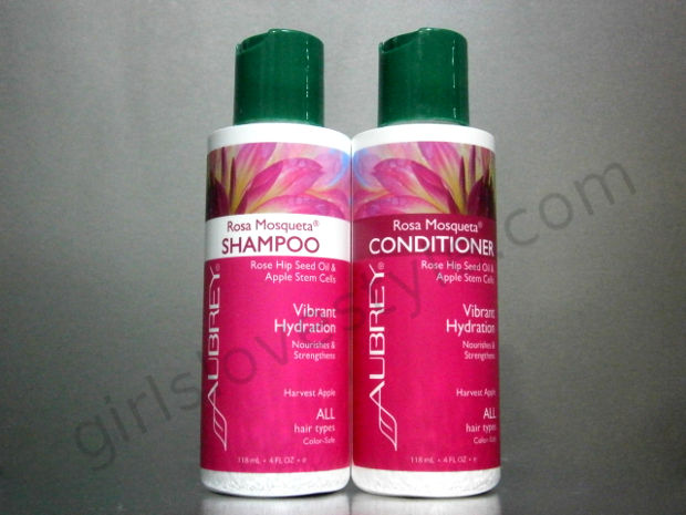 Review - Aubrey Organics Rosa Mosqueta Shampoo & Conditioner